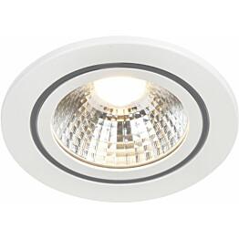 LED-alasvalo Nordlux Alec, Ø95x58mm, 3000K, IP44, eri värejä