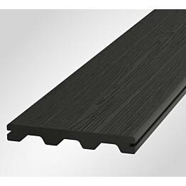 Terassilauta Onewood Nordic 20x150x4200mm puukomposiitti tummanharmaa