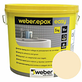 Epoksisaumalaasti Weber Epox Easy Cream 5 kg