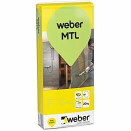 Märkätilalaasti Weber MTL 20 kg