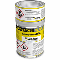 Injektointiepoksi Weber Injection epoxy 1l