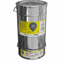 Polyuretaanielastomeeri Weber 2-K PUR 10 kg RAL7035