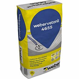 Lattiatasoite Weber Vetonit 4655 Teollisuus PikaPlaano 20 kg