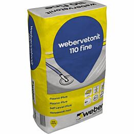 Betonilattiatasoite Weber Vetonit 110 Fine Plaano Plus 20 kg