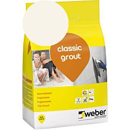Saumalaasti Weber classic grout 12 Marble 3 kg