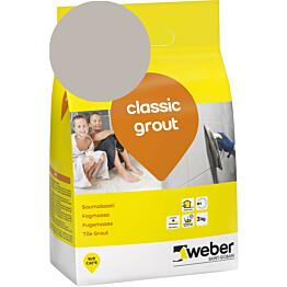 Saumalaasti Weber classic grout 14 Smoke 3 kg