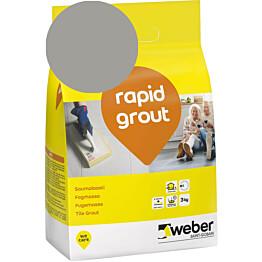 Saumalaasti Weber rapid grout 15 Concrete 3 kg