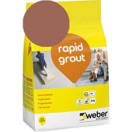 Saumalaasti Weber rapid grout 39 Brick 3 kg