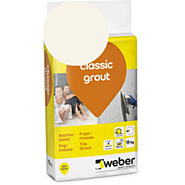 Saumalaasti Weber classic grout 12 Marble 15 kg