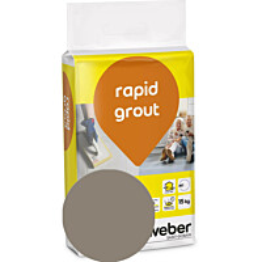 Saumalaasti Weber rapid grout 35 Khaki 15 kg