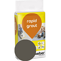Saumalaasti Weber rapid grout 37 Chocolate 15 kg