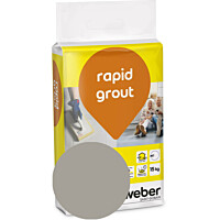 Saumalaasti Weber rapid grout 17 Medium grey 15 kg