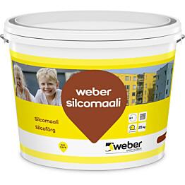 Silikonihartsimaali Weber Silcomaali tilausväri 25 kg