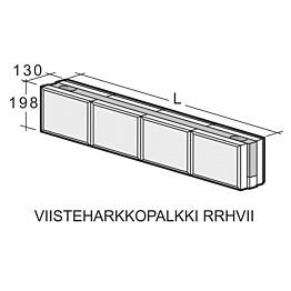 Viisteharkkopalkki Weber Kahi Runkopalkki RRH5VII 1500 mm