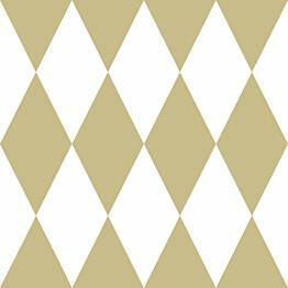 Tapetti Precious 347669 0.53x10.5m valkoinen/kultainen