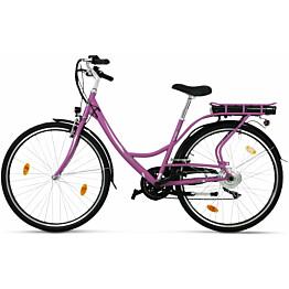 Sähköpyörä Lyfco 28 Elinor, 250W, 7 vaihdetta, vaaleanpunainen