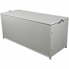 Säilytyslaatikko Lyfco Kattvik 134 x 54 x 59 cm polyrottinki valkoinen