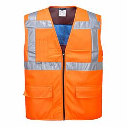 Viilentävä huomioliivi Portwest CV02 oranssi