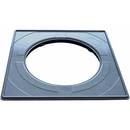Vakioasennuskehys lattiakaivonkannelle PP-Tuote 197 x 197 mm