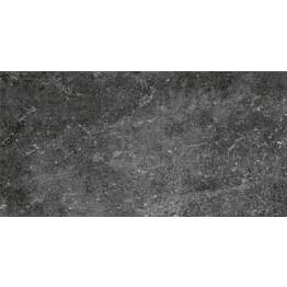 Lattialaatta Pukkila Stonemix Anthracite himmeä sileä 298x598 mm