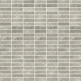 Mosaiikkilaatta Pukkila Stonemix Grey mattoncino himmeä sileä 14x43 mm