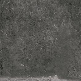 Lattialaatta Pukkila Stonemix Anthracite himmeä karhea 798x798 mm