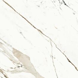 Lattialaatta Pukkila Archimarble Calacatta extra kiillotettu sileä 594x594 mm