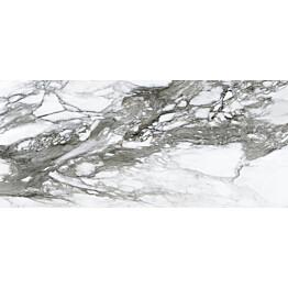 Lattialaatta Pukkila Lush Calacatta renoir kiillotettu sileä 785x1785 mm