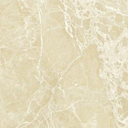 Lattialaatta Pukkila Lush Light beige kiillotettu sileä 594x594 mm