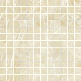 Mosaiikkilaatta Pukkila Lush Light beige kiillotettu sileä 23x23 mm