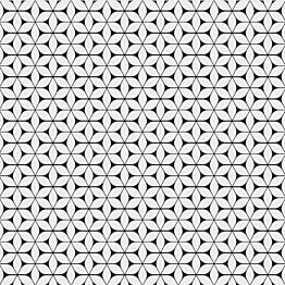 Kuviolaatta Pukkila Antique 2.0 Latin black/white himmeä sileä 200x200 mm