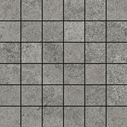 Mosaiikkilaatta Pukkila Urban Stone Grey himmeä sileä 47x47 mm