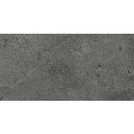 Lattialaatta Pukkila Urban Stone Anthracite himmeä sileä 294x592 mm