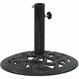 Päivänvarjon alusta musta ja pronssi 9 kg 40 cm valurauta_1