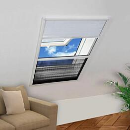 Plisse hyttysverkko ikkunaan 160 x 110 cm varjostimella_1