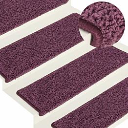 Porrasmatot 15 kpl 65x25 cm tumma violetti_1