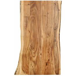 Pöytälevy täysi akaasiapuu 100x60x2,5 cm_1