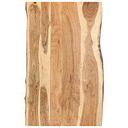 Pöytälevy täysi akaasiapuu 100x60x3,8 cm_1
