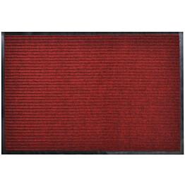 Punainen pvc ovimatto 90 x 60 cm_1