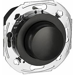 LED-valonsäädin Schneider Electric Renova UNI400LED 4-400W RCL musta