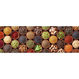 Välitilatarra Dimex Spice Bowls 180x60cm