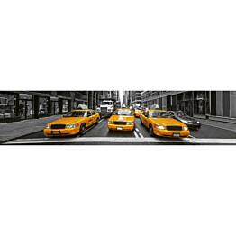 Välitilatarra Dimex Yellow Taxi 350x60cm