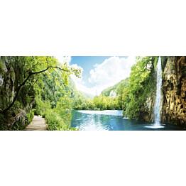 Kuvatapetti Dimex  Rela In Forest  375 x 150 cm