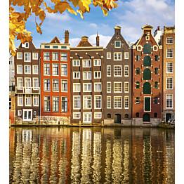 Kuvatapetti Dimex  Houses In Amsterdam  225 x 250 cm