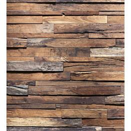 Kuvatapetti Dimex  Wooden Wall 225 x 250 cm