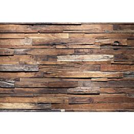 Kuvatapetti Dimex  Wooden Wall 375 x 250 cm