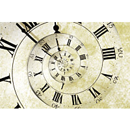 Kuvatapetti Dimex  Spiral Clock 375 x 250 cm
