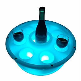 Kelluva juomateline LED-valolla SpaDealers