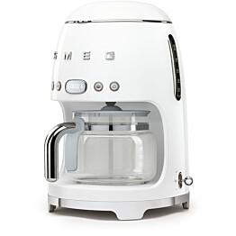 Kahvinkeitin Smeg DCF01 ajastimella valkoinen