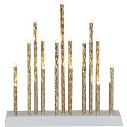 LED-kynttelikkö Star Trading Trix 19-osainen 290x270x60mm kulta